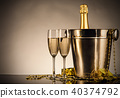 Celebration theme with champagne still life 40374792