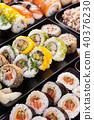 sushi, food, black 40376230
