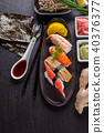 sushi, black, delicious 40376377