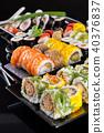 sushi, black, delicious 40376837