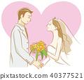 新郎 新娘 婚禮 40377521