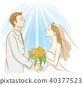 新郎 新娘 婚禮 40377523