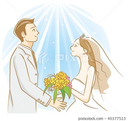 bridegroom, groom, bride 40377523