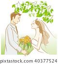 bridegroom, groom, bride 40377524
