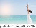 海滩 女性 女人 40379707