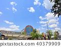 신록의 JR 큐슈 구루메 역 후쿠오카 현 쿠루 메시 역사 40379909