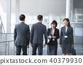 4 businessmen business scenes office scene 40379930