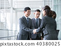 4個商人商業場面辦公場景 40380025