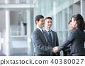 4 businessmen business scenes office scene 40380027