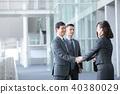4個商人商業場面辦公場景 40380029