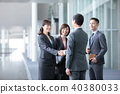 4個商人商業場面辦公場景 40380033
