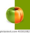 apricot apple fruit 40381082