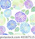 hydrangea, flower, flowers 40387515