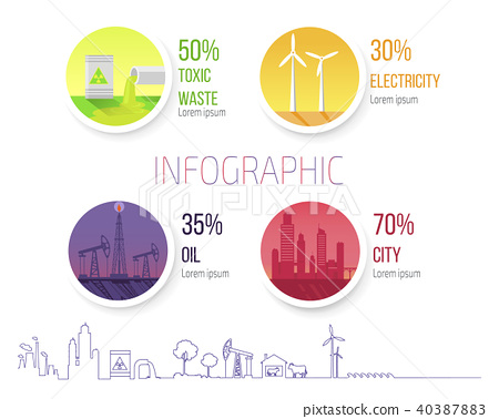 Infographic Poster Dealing Environmental Problems 40387883