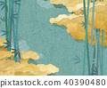 대나무, 일본의, 일본풍 40390480