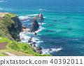 sheer cliff blue 40392011