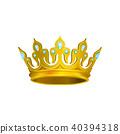 crown vector gem 40394318