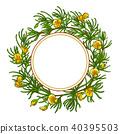 flower vector leaf 40395503