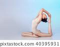 gymnastic, female, woman 40395931