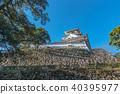 kochi castle, castle, castles 40395977
