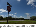 Texas Country Road Sign 40395981