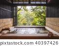 露天浴池溫泉浴溫泉情感溫泉圖像熱水 40397426