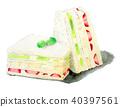食品 水彩画 食物 40397561