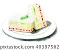 食品 水彩画 食物 40397562