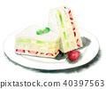 食品 水彩画 食物 40397563