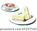 食品 水彩画 食物 40397564