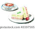 食品 水彩畫 食物 40397565