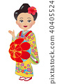 Okinawa woman dressed from women 40405524