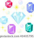 各種寶石 40405795