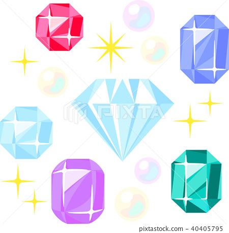 珠寶首飾 寶石 一套 40405795