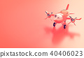 airplane minimal concept and vintage style 40406023