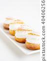 奶油泡芙 糖果 甜食 40406256