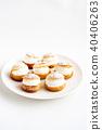 奶油泡芙 糖果 甜食 40406263