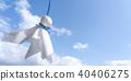 藍天 天空 雨季 40406275