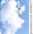 藍天 雲彩 雲 40406277