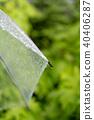 傘 雨季 梅雨 40406287