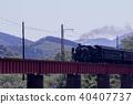 蒸汽機車 黑煙 煙 40407737