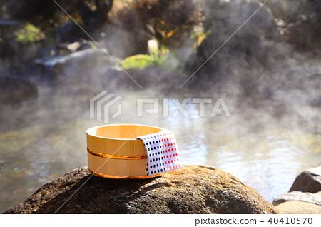 温泉 - 温泉的露天浴池 40410570