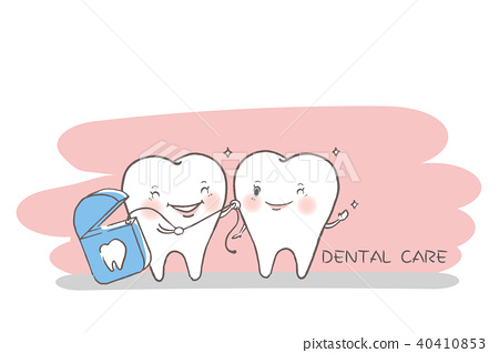 tooth with dental care concept 40410853