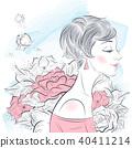藝術品 藝術 女性 40411214