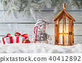 Christmas still life background 40412892