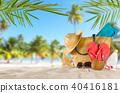 background, beach, holiday 40416181
