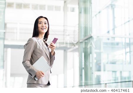 女商人(智能手機) 40417461