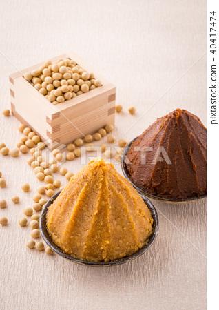 味噌 豆餅 小麥 40417474