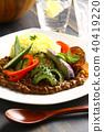 夏季蔬菜咖哩 咖哩 食物 40419220