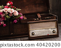Decorative Radio with Retro Look 40420200